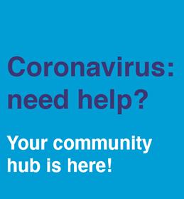 Coronavirus: need help? Your community hub is here!