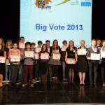 Big Vote results small