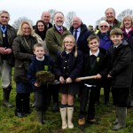 Etchingham sod turning