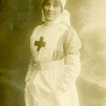 First World War website - nurse Celia McLaren cared for soldiers at Filsham Park Hospital, St Leonards