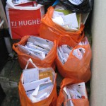 Bags of scam mail