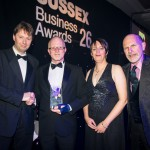 Awards winners at the presentation of 2014 Sussex Business Awards photo ©Julia Claxton
