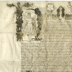 Battle Abbey archives - Part of the grant by Henry VIII to Sir Anthony Browne of the dissolved Abbey of Battle and its lands in 1538, including a decorative letter H depicting the king