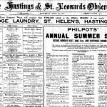 Front page of Hastings Observer of June 19, 1915
