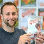 Rob Lloyd Jones won the East Sussex Children's Book Award 2015 with his book Wild Boy
