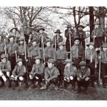 First World War website - Willingdon Ratton Scout Troup, pictured in 1916, were enlisted to gather conkers (Pic - Rosalind Hodges)