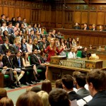 Members of the UK Youth Parliament debate in the House of Commons