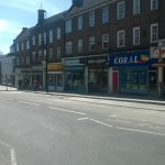 Uckfield High Street - temporary parking