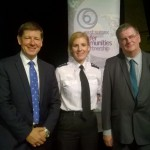 Safer People, Safer Places event in Eastbourne. From left: Mark Streater, chief executive of the Office of the Sussex Police and Crime Commissioner, Ch Insp Rosie Ross, partnerships manager for the Safer East Sussex Team, Cllr Bill Bentley, chairman of the East Sussex Safer Communities Partnership