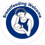 Breastfeeding welcome logo