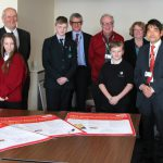 East Sussex County Council political group leaders joined members of East Sussex Children in Care Council and children's services chiefs at a ceremony so sign a pledge to looked-after children in the county