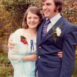 Roma and Michael Humphrey will renew their wedding views at Southover Grange 39 years to the day since they got married in 1978
