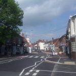 George Street in Hailsham reopened on May 15