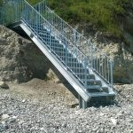 New steps at Cow Gap, near Beachy Head