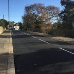 Completed resurfacing in St Helen's Road, Hastings