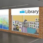 Artist's impression of new Peacehaven Library