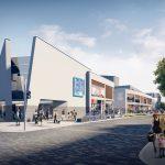 Artist's impression of Eastbourne Town Centre Improvement Scheme