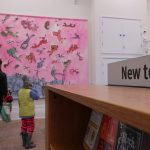 Sir Quentin Blake artwork at Hastings Library
