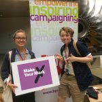 Libby Russell and Indya Wardle had their motions selected as two of the top 10 priorities for the UK Youth Parliament