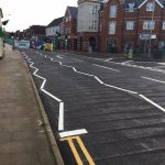 Heathfield High Street roadworks