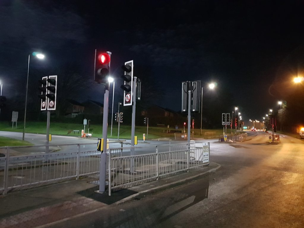 New Polegate traffic lights