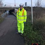James Streeter fixed a broken pump to clear floodwater and ensure the Eastbourne parkrun could go ahead