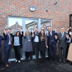 Representatives from East Sussex County Council, CCGs, Community Integrated Care and Inclusion Housing gathered to mark the opening of Greenacres, a supported living service in South Chailey