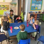 Children and staff at Ringmer Primary and Nursery School in lessons during the coronavirus crisis