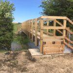 New footbridge near Hailsham