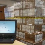 More than 1,000 laptops arrived in East Sussex – one of the first areas in the UK to benefit from a DfE scheme
